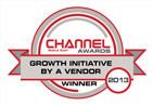 ChannelAward2013 (GROWTH INITIATIVE BY A VENDOR Award by Channel Middle East)