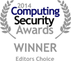ComputingSecurityAwards2014 (CR35iNG bags Editor's Choice Award at 2014 Computing Security Awards, London)