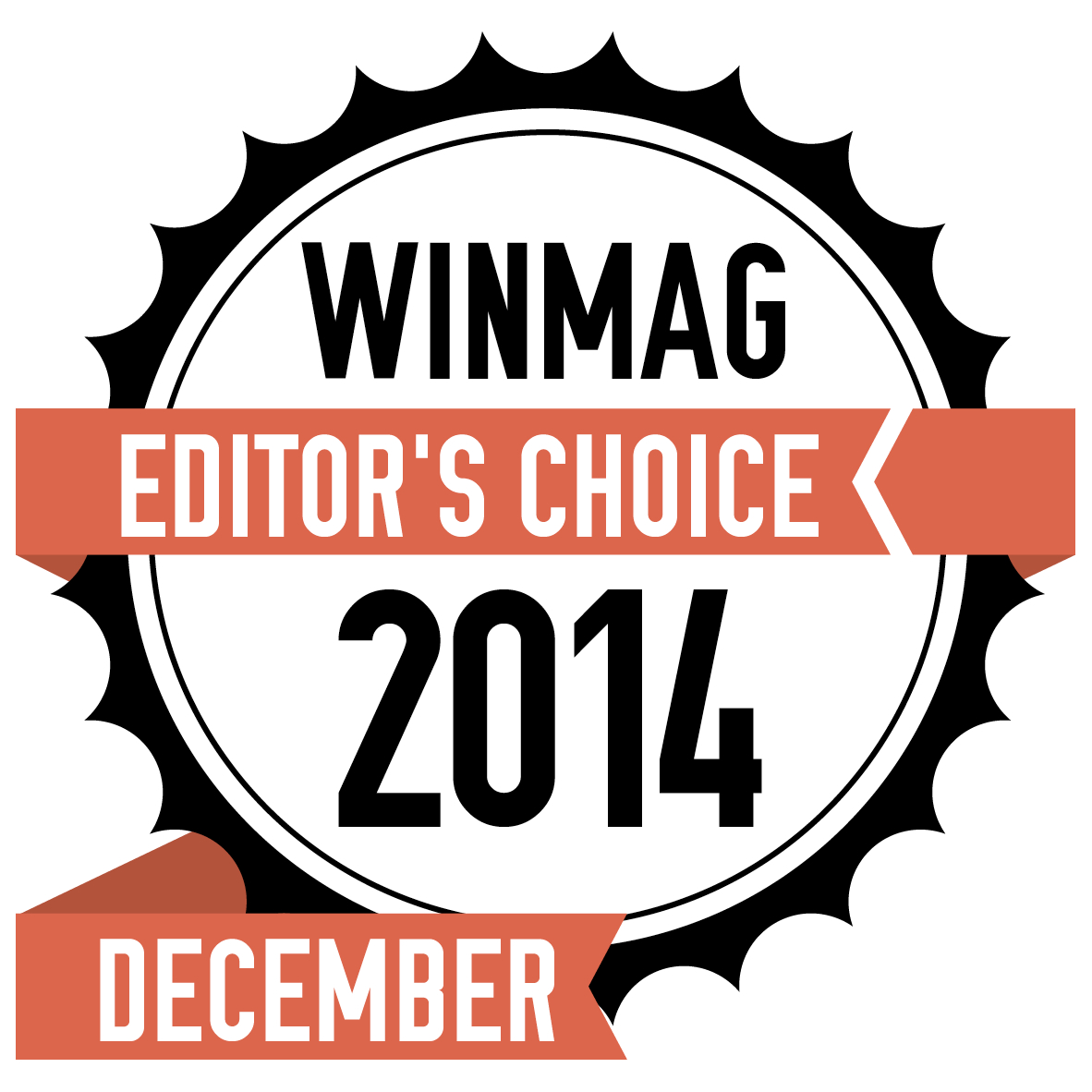 EditorsChoiceDECEMBER2014 (CR10iNG bags Winmag Editor's choice Award December 2014, Netherlands)