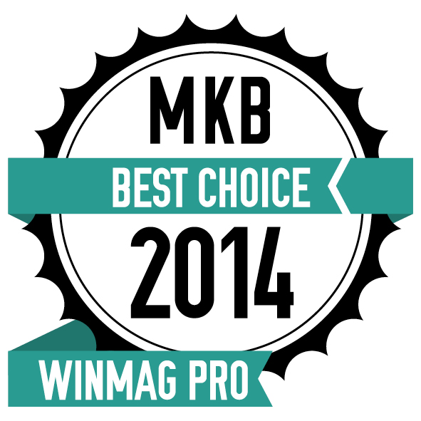 MKBBestchoice2014 (CR10iNG bags MKB Best Choice Award 2014 by Winmag Pro, Netherlands)